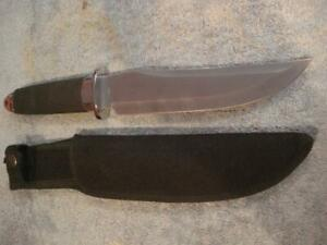 "BRAND NEW FROST CUTLERY BOWIE KNIFE w/SHEATH (7 1/2"" BLADE)"