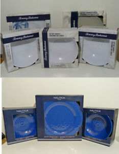 NEW* Nautica and Tommy Bahamas SUPERB 8 sets:  32 x pieces plates and bowls