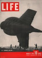 Life March 9 1942 WWII US Barrage Balloon 081619AME