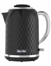 Breville VKT017  Curve Cordless Jug Kettle 3000 Watt Black 1 YEAR WARRANTY