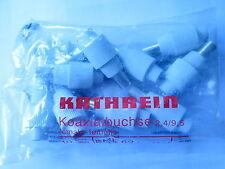 10x Kathrein EMK 62 KoaxBuchse IEC Buchse koaxialbuchse female emk62 Zugentl