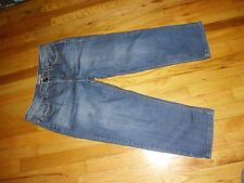 Women's Ruff Hewn Cropped Jeans Size 6 Short Very Good Condition