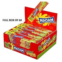 MAOAM STRIPES SWEETS BOX OF 60 WEDDING CART PARTY CHILDREN'S PARTIES KIDS