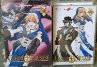 BOX SET DVD ANIME MANGA,CHRNO CRUSADE 1,2,3,4,5 crono,chrono,soul eater,hellsing