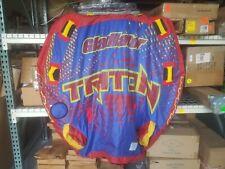 Gladiator Triton 3 Person Towable Inflatable Tube - Needs Repair - Has Leak