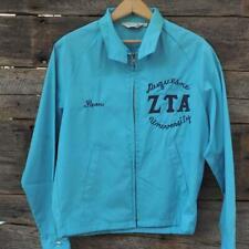 Vintage 1960s Duquesne University Zta Zeta Tau Alpha Fraternity Sorority Jacket