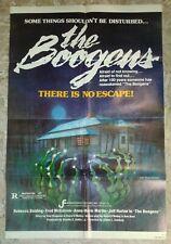 1981 THE BOOGENS 1-SH 27x41 Movie Poster FN 6.0 Rebecca Balding, Fred McCarren