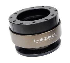 NRG Racing Steering Wheel Quick Release Gen 2 Black Body w/ Titanium Ring New