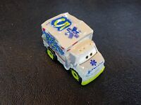DISNEY PIXAR CARS DIE CAST MINI RACERS DR. DAMAGE #32 2018 FREE SHIP $15+