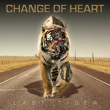 Change of Heart - Last Tiger CD 2016 British AOR Rock 4th Album