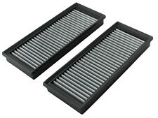 aFe MagnumFLOW OEM Replacement Air Filter Pro DRY S For Mercedes-Benz V8 (Qty 2)