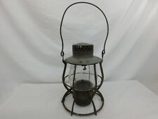 DIETZ NEW YORK CENTRAL RAILROAD (N.Y.C.S) LANTERN NO. 39 CLEAR GLOBE VINTAGE