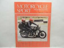 May 1986 Motorcycle Sport Magazine Triumph Twin Honda Moto Guzzi Le Mans L12837