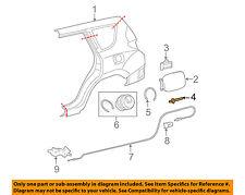 TOYOTA OEM Quarter Panel-Fuel Door Gas cap Hatch Rivet 9026906017