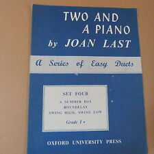 piano duet TWO AT THE PIANO Set four, Grade 1 +, Joan Last