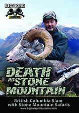 Death at Stone Mountain Big Game Hunting Safari DVD Sheep Grizzly