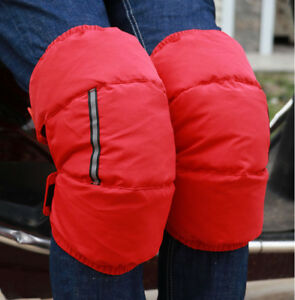 Unisex Winter Knee Warmer Leg Protector Kneecap Duck Down windbreak Kneepad SKI
