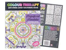 Malbuch für Erwachsene Mandalas Maltherapie Anti Stress Mandala-Malbuch