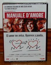 MANUALE D´AMORE DVD NUEVO PRECINTADO COMEDIA ROMANTICO (SIN ABRIR) R2