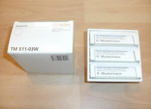 Siedle TM 511-03 W Tastenmodul 3-Fach NEU & OVP TM511-3 Klingeltaster Weiß