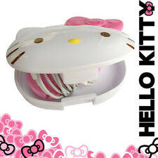 [HELLO KITTY] Earphone Case with Bow Cord Wrap Accessory Organizer SANRIO NEW