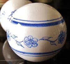 Keramikkugel Deko-Kugel groß Umpfang 36 cm handgearbeitet