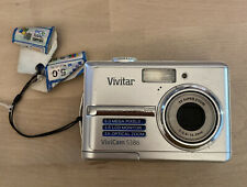 Vivitar ViviCam 5386 5.0MP Digital Camera - Silver