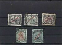 NYASSA  MOUNTED MINT OR USED STAMPS ON  STOCK CARD  REF R843
