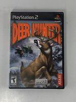 PlayStation 2 PS2 Deer Hunter Atari
