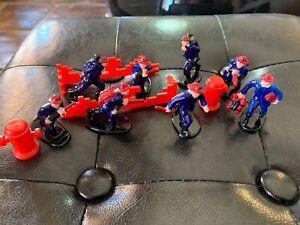 Lot de 8 figurines pompier 1/43 diorama