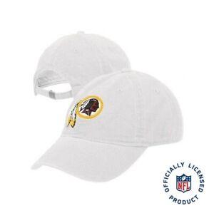 Washington Redskins NFL Reebok White Slouch Relaxed Hat Cap Adult Adjustable NEW