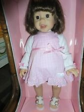 """Lee Middleton Doll Company Toddler Macie Nib Very soft and Lovable 18.5"""" tall"""