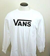 7af605fb3 VANS off The Wall Mens Tshirt Skater Surfer Long Sleeve T Shirt Size XL