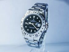 Rolex EXPLORER II Oyster perpetual Gent's Watch in acciaio inox quadrante nero Em89