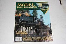 MODEL RAILROADING MAGAZINE  1/1996 GOOD SHAPE