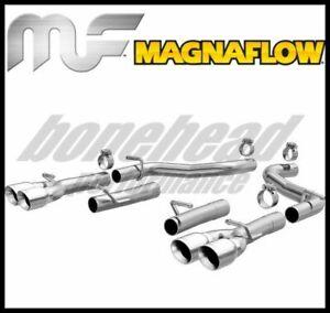 Magnaflow 19218 Axle Back Exhaust System 2015-2021 Dodge Challenger 3.6L V6