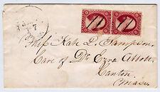 "#26A-3 Cents 1857, 17-27R10L, vertical pr, Recut RIFL 17R, blur in ""T"" 27R, 1860"