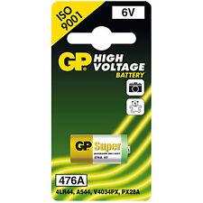 GP Battery 76A (4LR44 / PX28A / V28PX / K28A / V34PX) 6 Volt Alkaline Battery