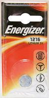 1 x Energizer 1216 CR1216 DL1216 3V Lithium Knopfzelle Batterie