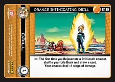 DRAGON BALL Z DBZ VENGEANCE : Orange Intimidating Drill R115 X 3
