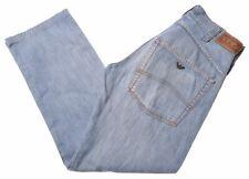 ARMANI Mens Jeans W31 L30 Blue Cotton Straight  BO13