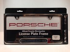"OEM Porsche ""Porsche"" Insignia Script Logo License Plate Frame Polished Finish"