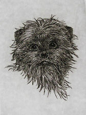 GEOFFREY LASKO - AFFENPINSCHER - LISTED ARTIST ORIGINAL ETCHING -S&N - FREE SHIP