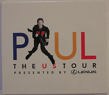 Paul McCartney The US Tour Presented By Lexus 2-CD Promo-Only Tour Set Sealed