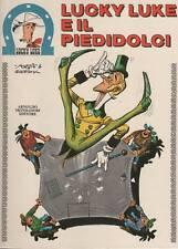 morris + goscinny LUCKY LUKE E IL PIEDIDOLCI   mondadori  1973  piedi dolci