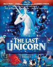 The Last Unicorn Blu-ray DVD 2 Disc New Sealed 2011 1982 80's Animated Movie