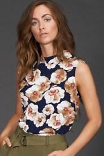 Women's Floral Strapless Sleeve Tops & Blouses