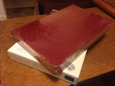 NEW Burgundy Genuine Leather! Holman CSB/HCSB UltraThin Reference Bible Thinline