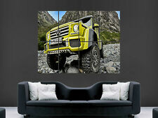 MERCEDES G500 4X4 CAR  ART HUGE  LARGE PICTURE POSTER GIANT