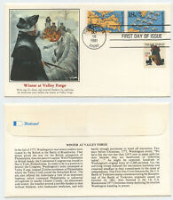 50393 - USA - FDC - Winter at Valley Forge - Yorktown 16.10.1981
